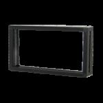 โครง 5515 - ขอบ 1.5 cm  - อลูมิเนียมยาว 5.68 m - พลาสติกฉากเข้ามุมหนา 5.5 cm